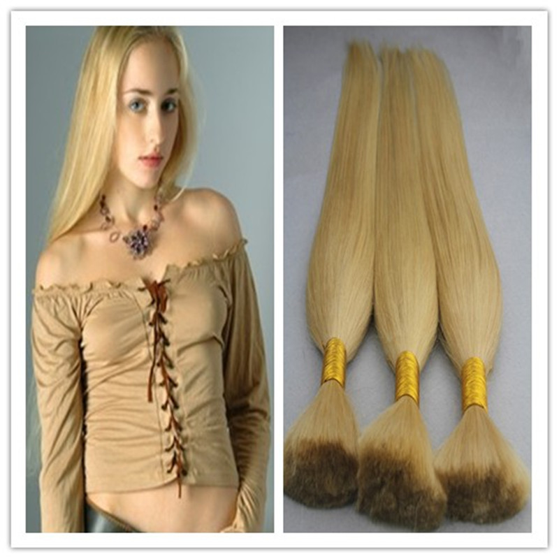 7A Remy Human Hair For Micro Braids No Weft Extensions Unprocessed Indian Straight Virgin Human Hair Braiding Bulk 200g 300g