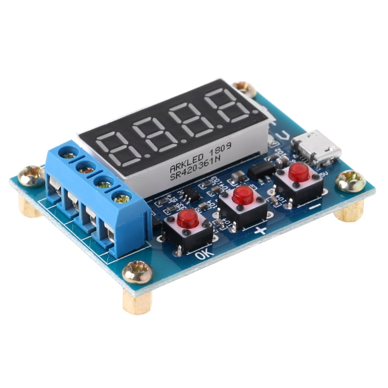 ZB2L3 Li ion Lithium Lead acid Battery Capacity Meter Discharge Tester Analyzer in Battery Testers from Tools