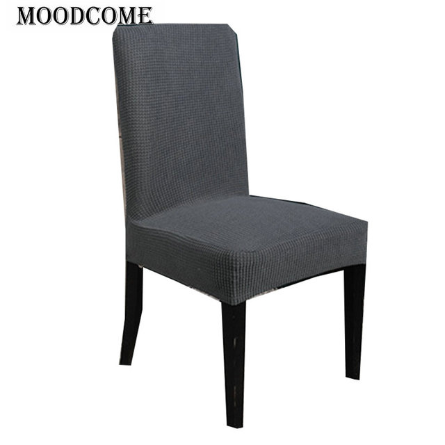 Surprising Us 5 17 6 Off Grey Dining Chair Cover Spandex 2018 New Arrival Elastic Kitchen Chair Cover Soft Drop Shipping Cover On Chair In Chair Cover From Pabps2019 Chair Design Images Pabps2019Com