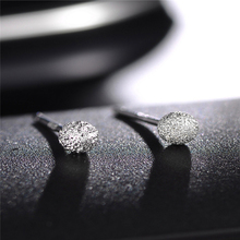 Hot-selling 4mm Ear Nail Earrings 925 Silver High-quality Piercing Cartilage Globular Body Accessories