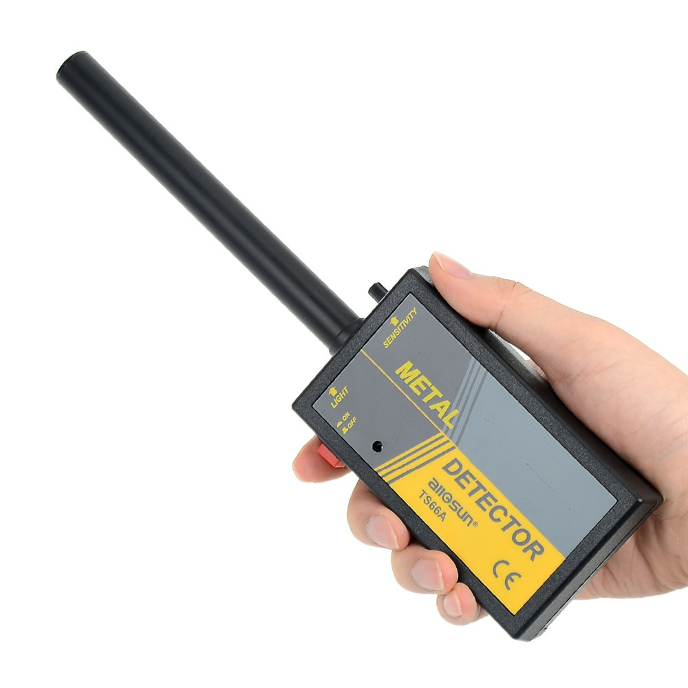 all-sun TS66A Handheld <font><b>Metal</b></font> Detector / Pinpointer Waterproof Flashlight High Sensitivity ship from Russia