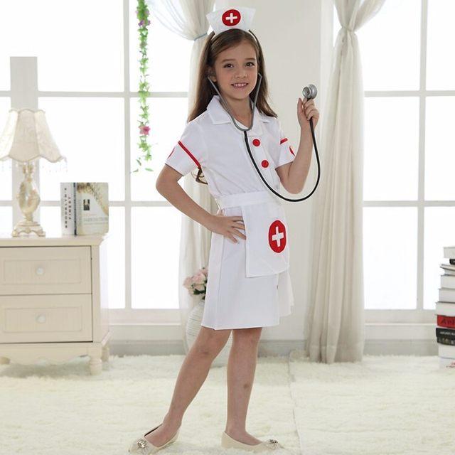 Online Shop Girls Nurse Uniform in Halloween Carnival Performance ...