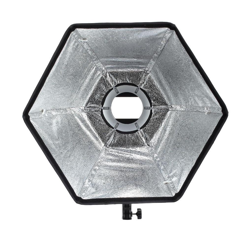Selens photographic Soft box 50cm Hexagon Softbox con anillo - Cámara y foto