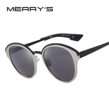 MERRY'S 2017 New Fashion Women Cat Eye Sunglasses Brand Designer Vintage Sunglasses Luxury Sun glasses For Women S'8040