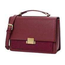 Famous Brand Designer Bags Women Bags 2019 Fashion Ladies Genuine Leather Purse Mini Messenger Bag Female Crossbody Bags Handbag