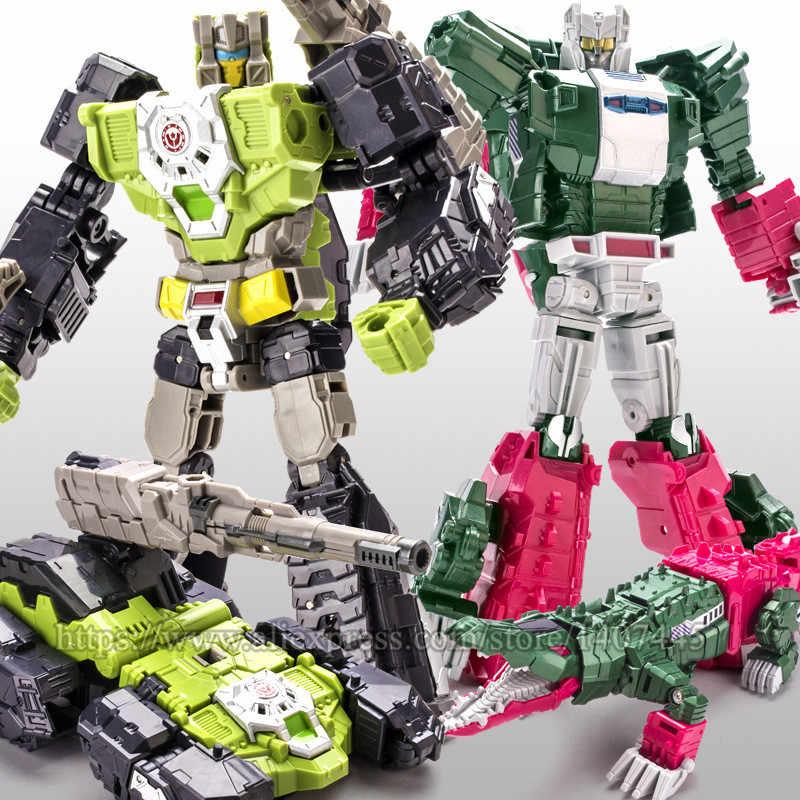 WEI JIANG 5 Plástico ABS + Liga de Transformação Brinquedos Crianças Juguetes Dragão Figura de Ação Filme Clássico Robô Carro Legal