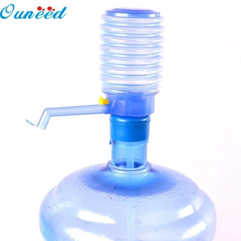 Ouneed Home Hand Press Pump Dispenser Bottled Drinking Water Easy Hand Press Pump Dispenser Home Indoor Outdoor 1PC