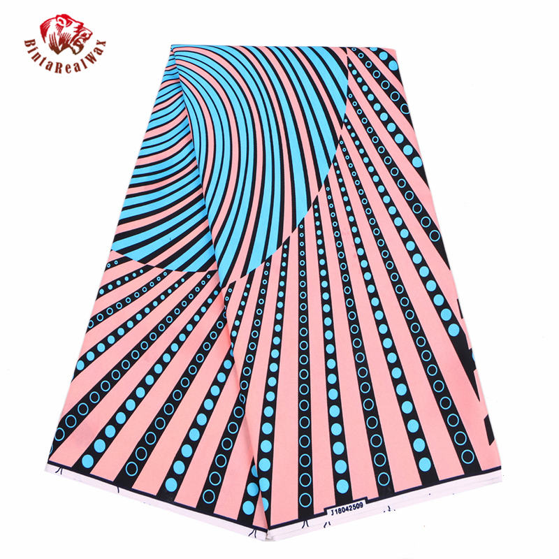 2020 Анкара Африканский полиэстер восковые принты ткань новый bintareal waxвысокое качество 6 ярдов африканская ткань для вечернего платья FP6097