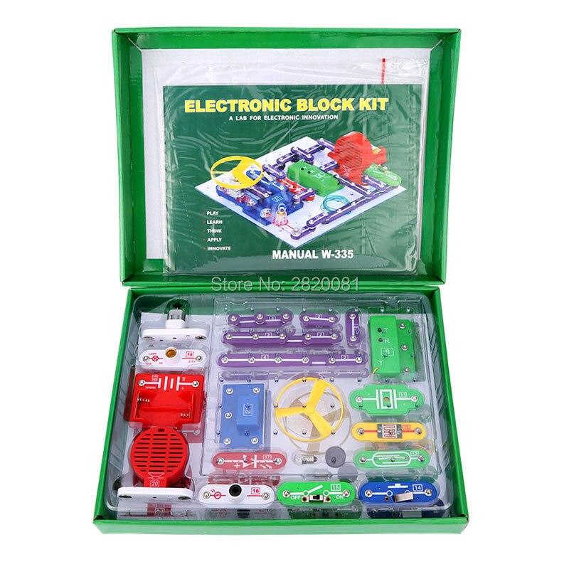 где купить Educational appliance smart electronic kit toy set,multi-functions controlled science kit children's DIY blocks Snap circuits по лучшей цене
