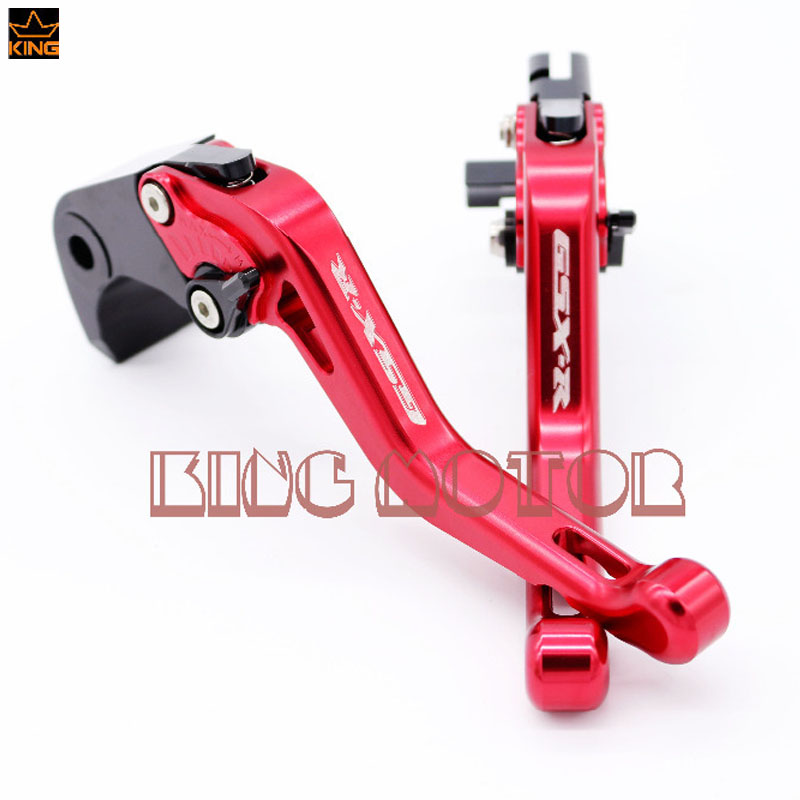 ФОТО For SUZUKI GSX-R600 GSX-R750 GSX-R1000 GSXR600 GSXR750 GSXR1000 Motorcycle CNC Billet Aluminum Short Brake Clutch Levers Red