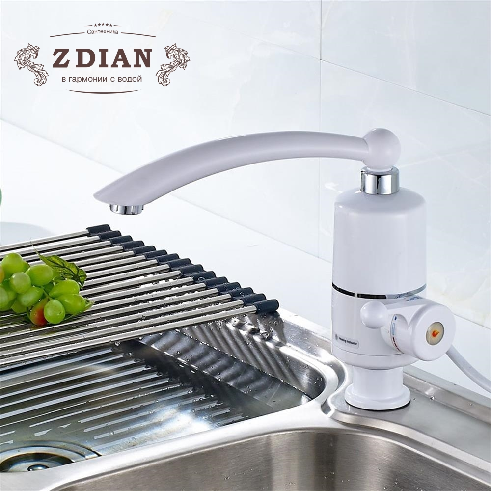 Newest Water Heater Kitchen Instant Hot Water Tap Heater Electric Water Faucet Instantaneous Heater Water Heater Bathroom