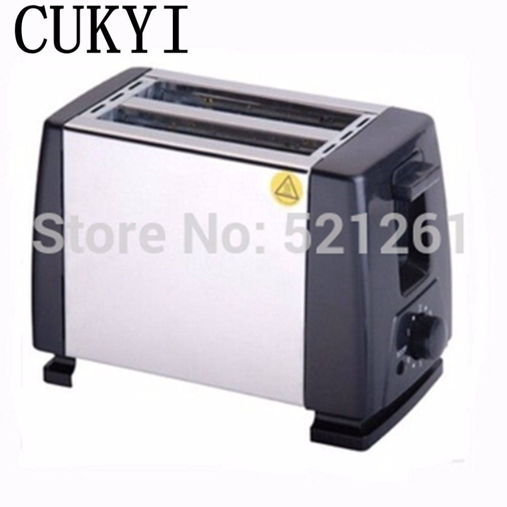 CUKYI Coastal beach Household stainless steel toaster bread machine toast furnace Baking Bread Machine kitchen cukyi toaster italian technology breakfast machine household automatic single double sides baking stainless steel liner retro
