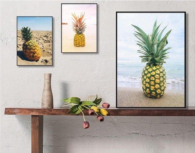 US $3.5 |2017 neue Ankunft Grün Gelb Ananas Plakat A4 Nordic Wohnzimmer  Wand Leinwand Gemälde Wohnkultur Drucke Bild Kein Rahmen in 2017 neue ...