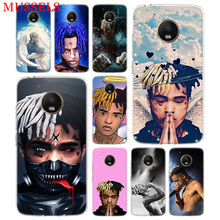 XXXTentacion Look at Me TPU Phone Case For Motorola Moto G7 G6 G5S G5 E4 Plus G4 E5 Play Gift Pattern Coque Cover Shell
