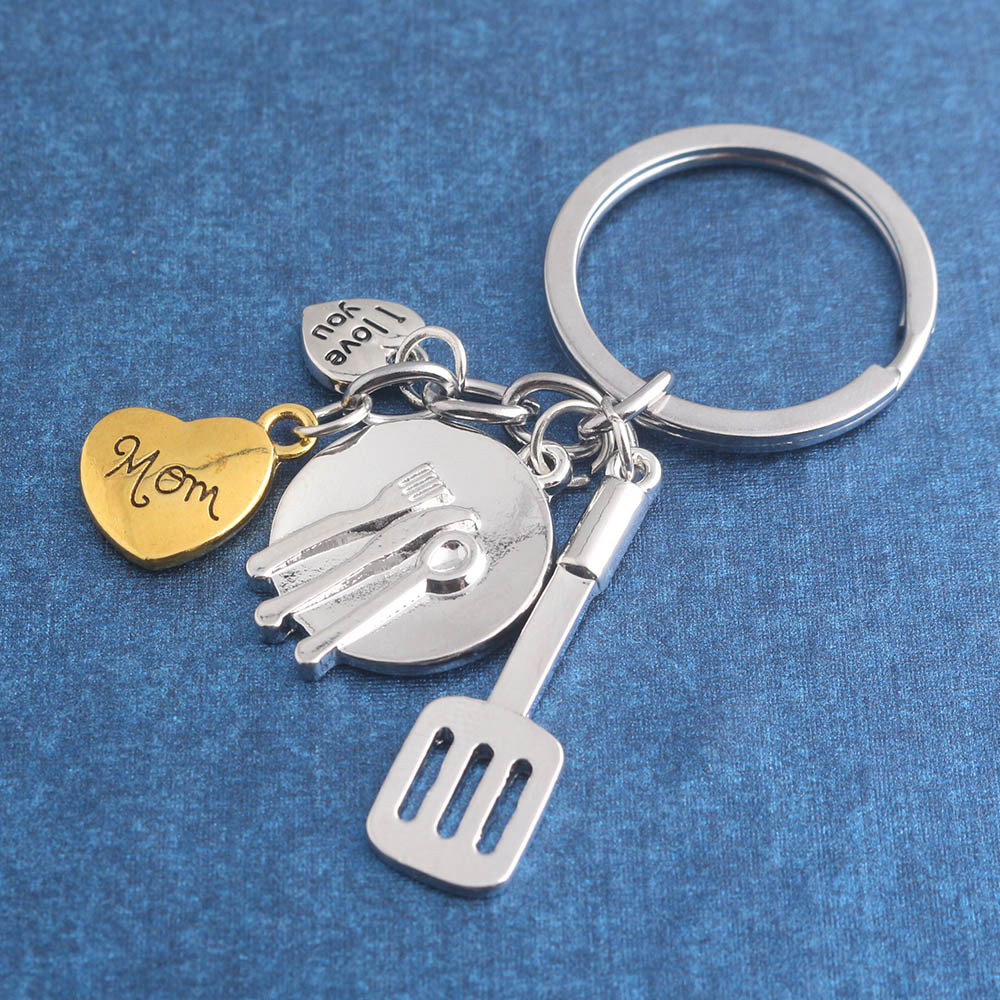Father\'s Day Mother\'s Day Gift Repair Tool Kitchen Utensils Keychain ...