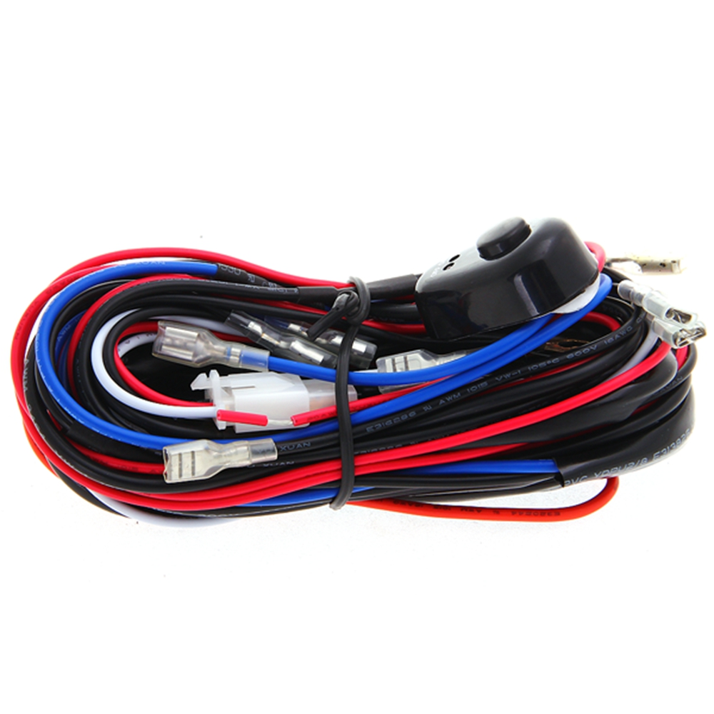 LED Work Driving Light Wiring Harness 12V 40A Switch Relay