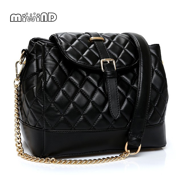 MIWIND Women Messenger Bags Chains Women Bag Bolsa Feminina 2016 New Design Shoulder Bags Free Sshipping