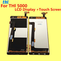 FOR THL 5000 LCD Display Touch Screen Tools 100 Original Digitizer Assembly Replacement Accessories For Phone