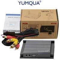 YUMQUA 5 г Автомобиль wifi Mirrorlink коробка с HDMI использование Youtube автомобильное Зеркальное для iOS11 телефон для Android телефон автомобиль и домашний
