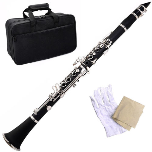 Brand New Professional School Band Black Blue Green Purple Red White Bb Clarinet