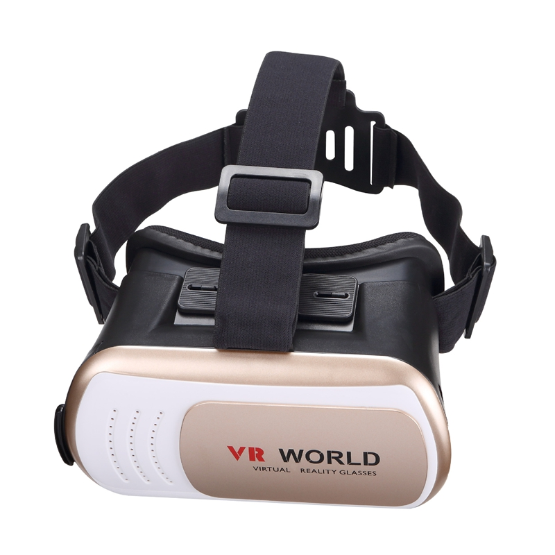 Finewin Google cardboard VR BOX 3d Glasses  VR WORLD  Virtual Reality 3d virtual video glasses For 3.5-6 Inch phone ios/android