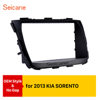Seicane Double Din Car Radio Frame Fascia Refitting CD Plate Panel Install Dashboard For 2013 KIA SORENTO
