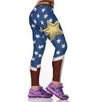 2016 Super Hero Series 3D Printed Women Leggings Punks Gothic Fitness Active Pants American Apparel Sporting