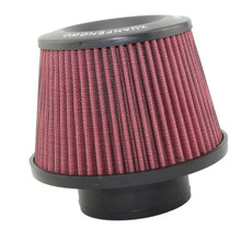 Universal Kits Auto car Intake Air Filter Air Filter 3″ 76mm High Flow Cone Cold Air Intake Performance Red