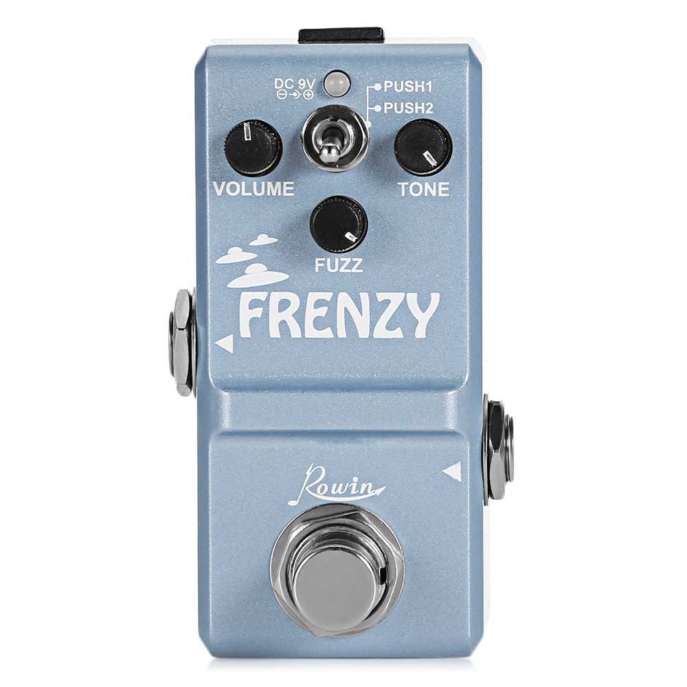 LN - 322 Guitar Effects Classical Fuzz Looper Effects Pedal For Guitar True Bypass Design Minimizes Tone Loss