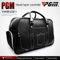 PGM golf bag man portable bag built in shoe bag