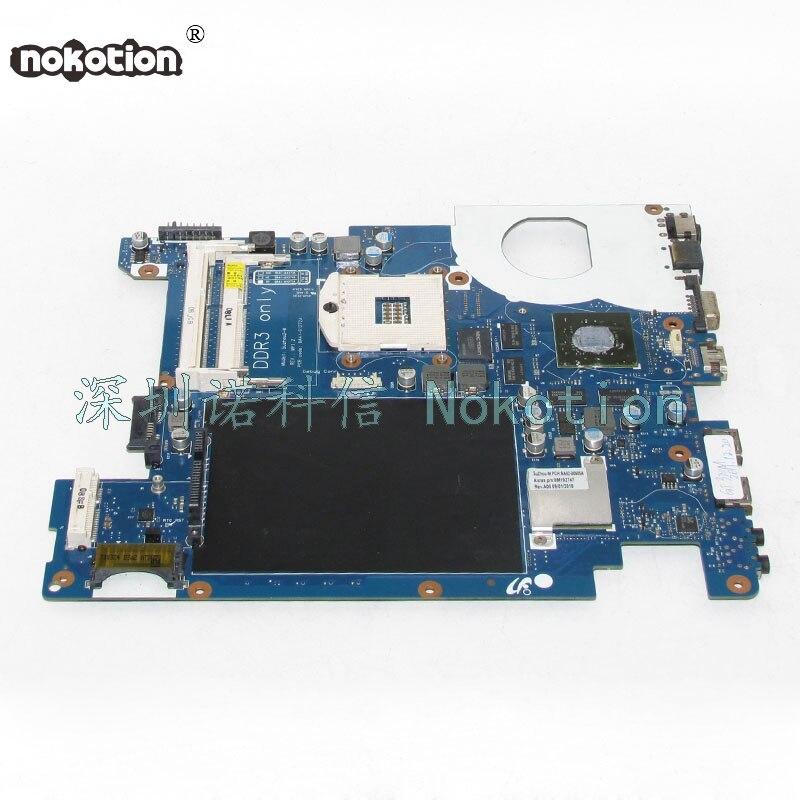 NOKOTION BA92-06385A BA92-06385B BA41-01272A For samsung NP-R439 R439 Laptop motherboard HM55 GT320M series DDR3