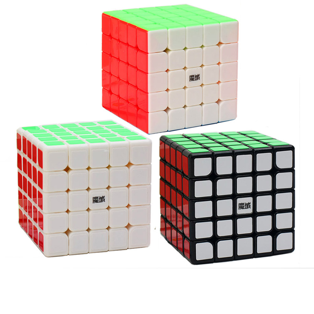 Moyu Weichuang Yongjun GTS 5*5*5 Magic Cubes Puzzle Speed Professors Cube Educational Toys Gifts for Kids Children
