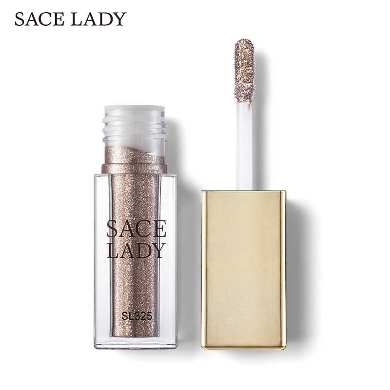... SACE LADY Glitter Shadow Makeup Waterproof Shimmer Eyeshadow  Highlighter Cream Make Up Illuminator Eye Shadow Glow ... 23774e23ce71