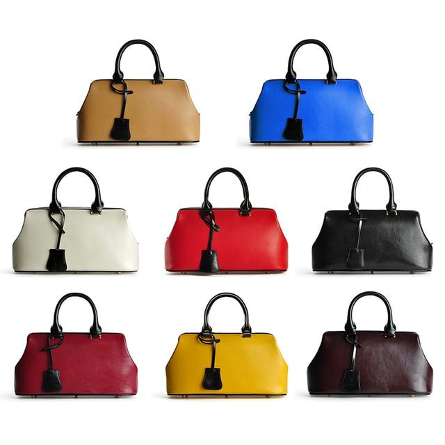 LY.SHARK Luxury Handbag Women Bags Designer Genuine Leather Tote Bag 4