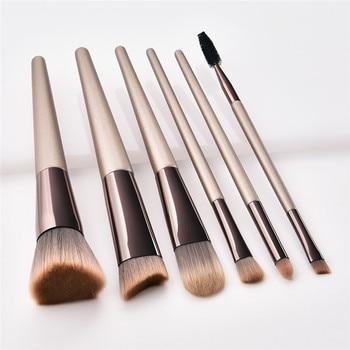 4d4791795 Juego De 10 piezas De Pinceis De Maquiagen juego De Brochas De Maquillaje  en polvo herramientas De Maquillaje cosméticos De belleza Brochas Rosa  Maquillaje