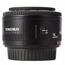 Yongnuo yn35mm f2.0 f2n lente, yn50mm lente para nikon f montagem d7100 d3200 d3100 d5100 d90 dslr câmera, para câmera canon dslr