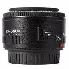 YONGNUO YN35mm F2.0 F2N עדשה, YN50mm עדשה עבור ניקון F הר D7100 D3200 D3300 D3100 D5100 D90 DSLR מצלמה, עבור Canon DSLR מצלמה