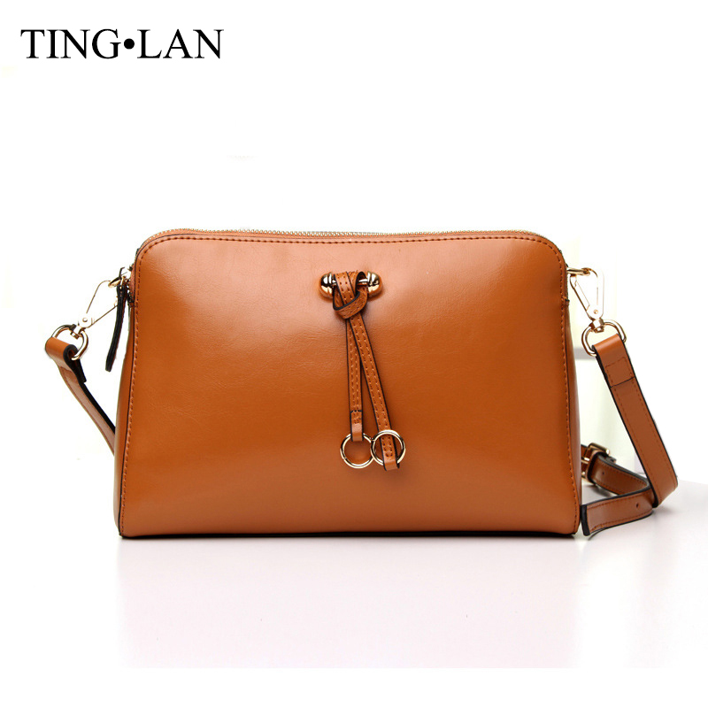 ФОТО 2017 Vintage Women Shoulder Crossbody Bags Ladies Messenger Bag Genuine Leather Fashion Designer Female Small Bags Black Brown
