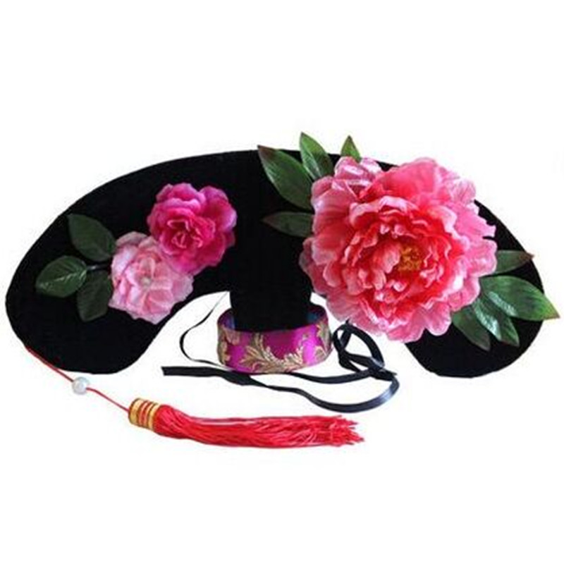 chinese ancient qing hats qing dynasty hat princess hat ancient headwear imperial palace maid hair costume accessories