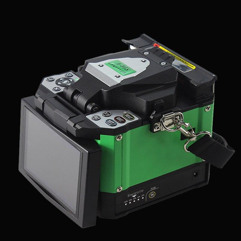 A 80S Green Automatic Optical Fiber Fusion Splicer Fiber Optic Splicing Machine