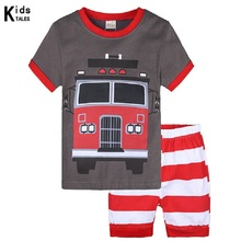 Children Clothing Set Pajamas Sets Kids boys T-shirt Pants Kit Suit Baby Boys Clothes For Boy Suits Outfits