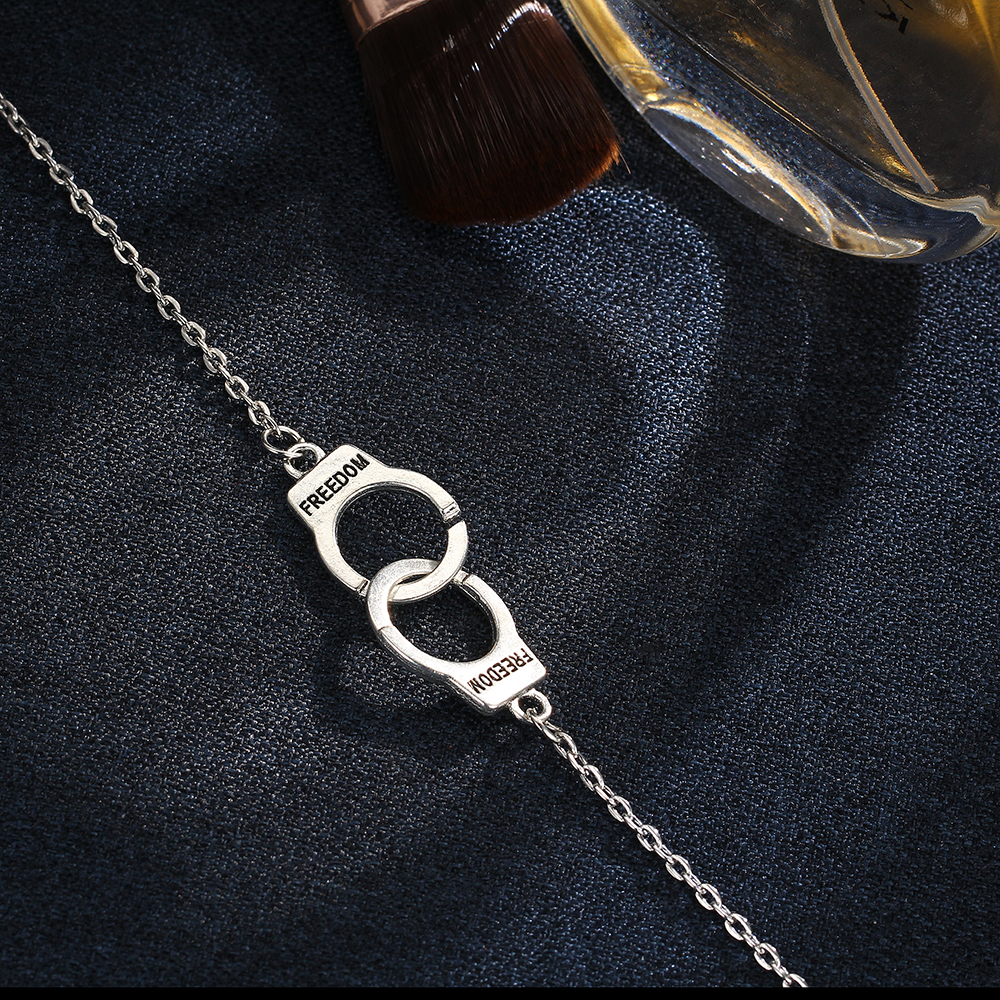 17KM couleur argent mode bricolage bracelets de cheville pour femmes fille bohème amitié Bracelet fait main pieds nus fête bijoux cadeau 4