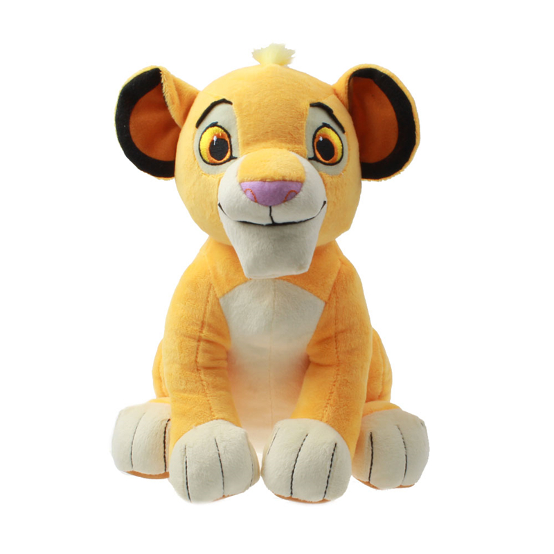 26cm Cute Simba The Lion King Plush Toys Soft Lion Stuffed Animals Simba Doll Toys For Children Birthday Gifts Home Decoration creative huge lovely stuffed animal lion plush toys the jungle lion doll birthday gift about 100cm