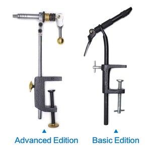 Image 5 - Kit de ferramentas rotativas para fazer mosca, braçadeira dura de aço e com 360 garras rotativas, tipo vise c e mosca ferramentas de pesca