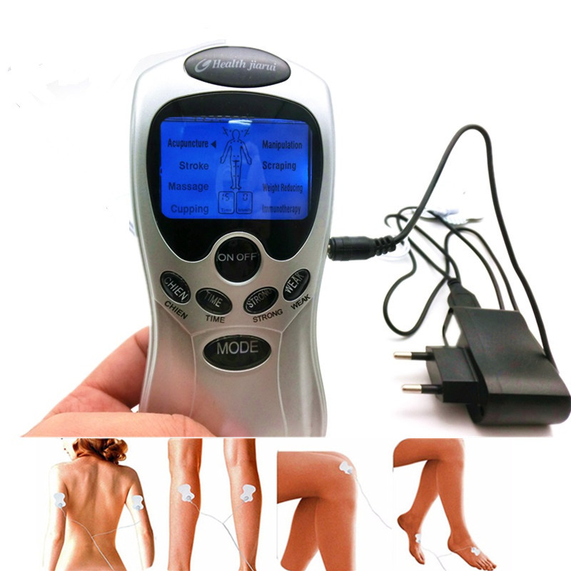 Health Care digital chinese meridian tens therapy massager relax body muscle accupuncture machine 4 electrode pads physiotherapy 8 electrode tens body massager health care muscle relax digital therapy machine meridian physiotherapy therapy sculptor