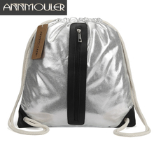 Annmouler Large Capacity Women Backpack New Design Pu Leathe