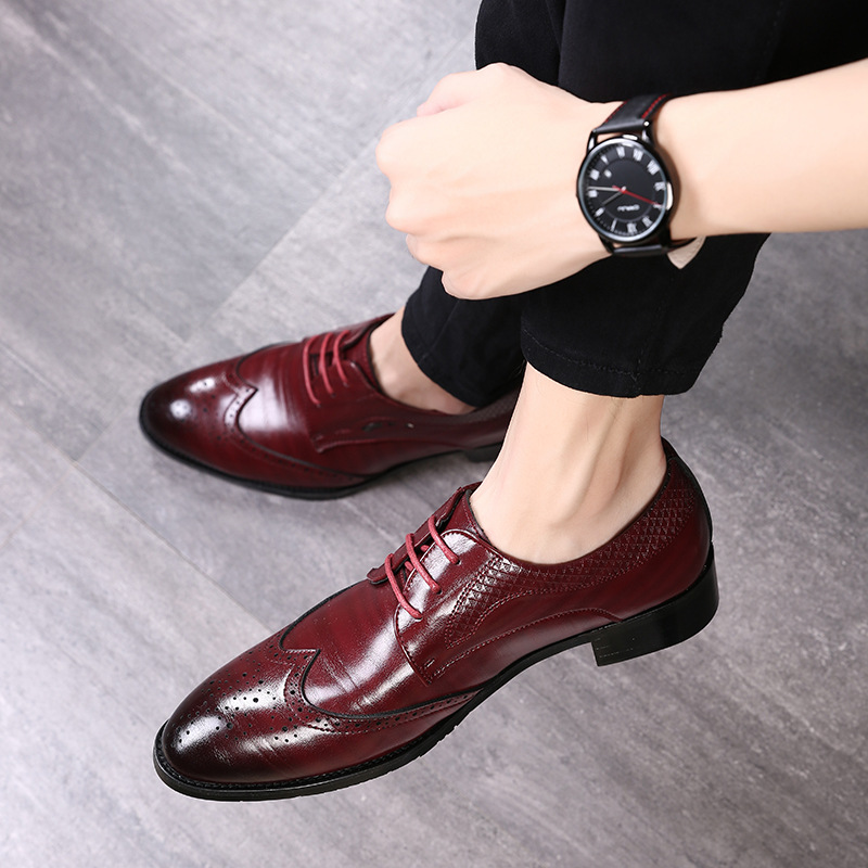 2019 Fashion Men Formal Shoes High Quality Pointed Business Shoes Oxfords Leather Men Shoes Big Size 37-48 2019 Fashion Men Formal Shoes High Quality Pointed Business Shoes Oxfords Leather Men Shoes Big Size 37-48