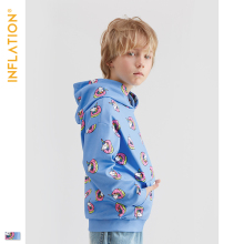 INFLATION Kids Hoodies Funny Unicorn Hoodie 2019 Autumn New Arrival Boy Clothes Streetwear Style 8Y-16Y 19523A