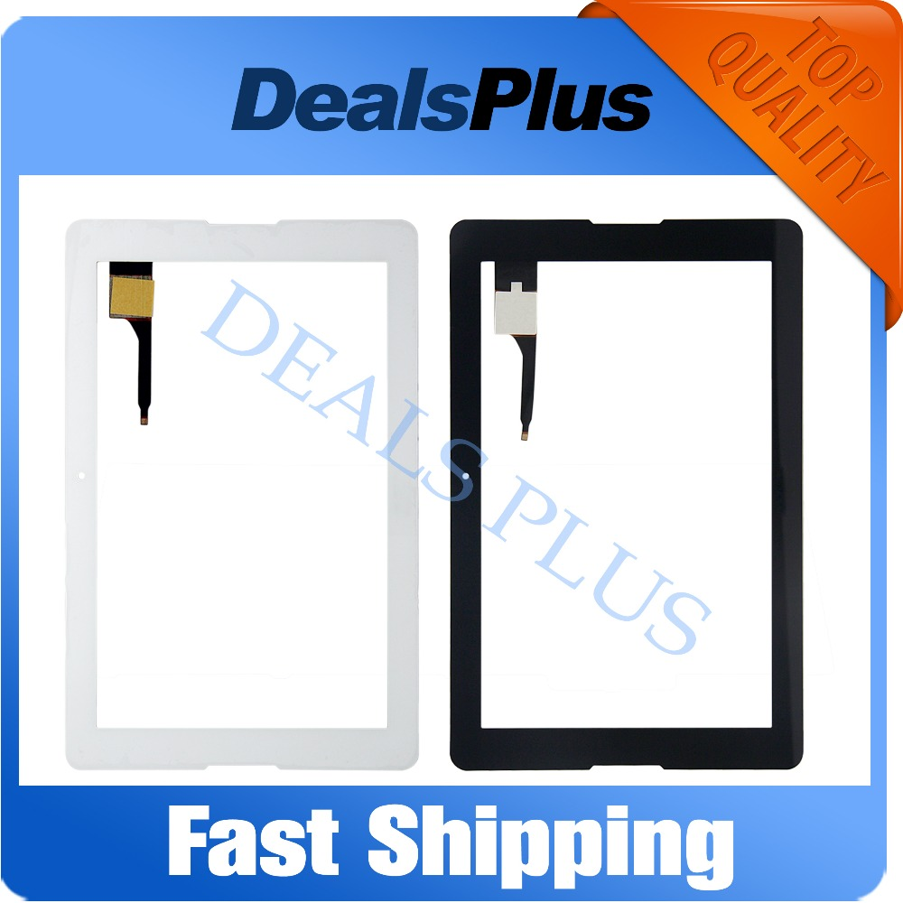 White Black 100% New Touch Screen Digitizer Glass For Acer Iconia One 10 B3 - A20 B3 20 Tablet PC Replacement Free Shipping 10 1inch for acer iconia one 10 b3 a10 tablet pc touch screen panel digitizer glass sensor replacement