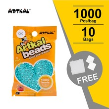 10 мешков Artkal плавкий предохранитель бусины Мини C-2.6mm детские игрушки ювелирные изделия интеллектуальная игра